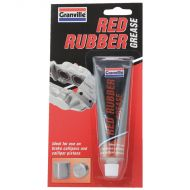 Granville Red Rubber Grease - 70g Tube