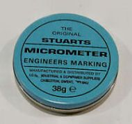 Stuarts Micrometer Engineers Marking Blue - 38g Tin
