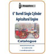 "EKP Supplies 6"" Burrell Agricultural Engine Catalogue"
