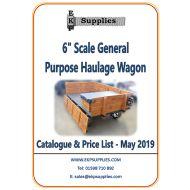 "EKP Supplies 6"" Scale General Purpose Wagon Catalogue"