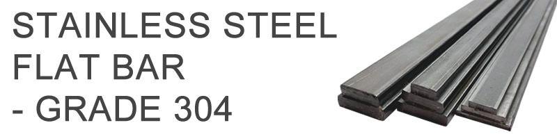 Stainless Steel Flat (Grade 304)