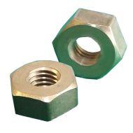 1/4 BSF Brass Full Nuts Qty 10
