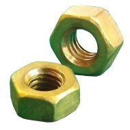 3/16 BSF Brass Full Nuts Qty 10