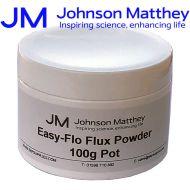 Johnson Matthey Easy-Flo Flux Powder - 100g
