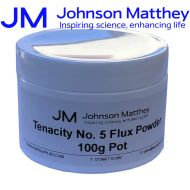Johnson Matthey Tenacity No 5 Flux Powder - 100g