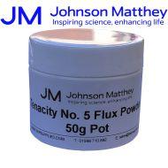 Johnson Matthey Tenacity No 5 Flux Powder - 50g