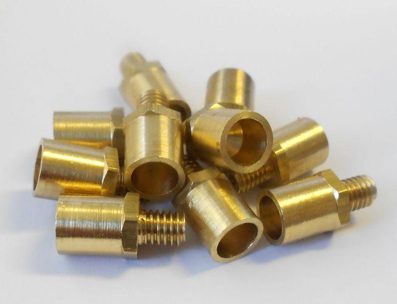 Miniature Brass Oil Cups