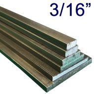 """3/16"""" Steel Flat Assortment Pack - 24"""" Lengths"""