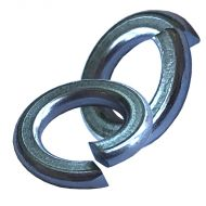 2BA Steel Spring Washers - Qty 50