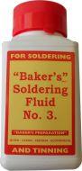 Bakers Soft Solder Fluid 125ml
